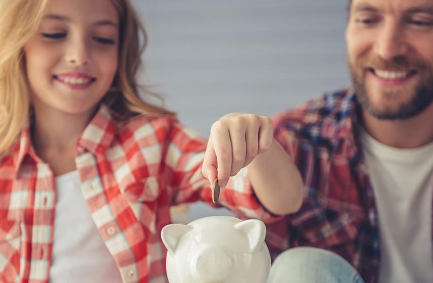 Umgang mit Geld lernen für Kinder